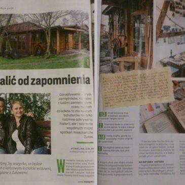 Wzmianka O Dawnej Wozowni w gazecie Top Agrar Polska.