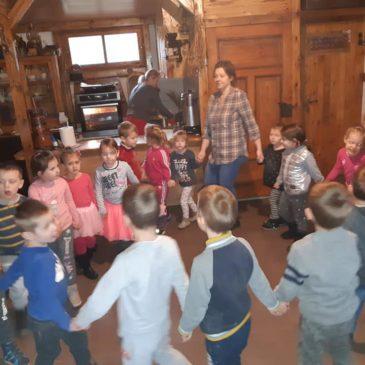Pieczenie pierników z przedszkolakami z Nowego Stawu